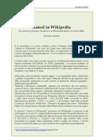 2012 - Autori in Wikipedia. Un concorso promosso da AICA con Wikimedia Italia e con la rete Ellis (Mondo digitale)