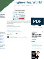 Three Useful Sites ~ My Engineering World