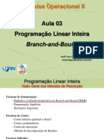 Aula03 PI Branch and Bound