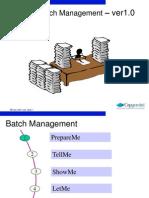 MM Batch Management