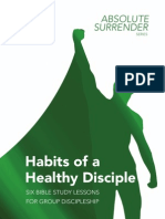 2. Habits of a Healthy Disciple