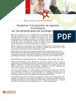 Safend-Fr2317-Empêcher l'introduction de logiciels malveillants