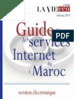 Services Internet au Maroc édition 2010