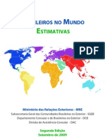 Brasileiros No Mundo 2009 - Estimativas - FINAL