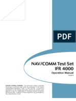 Ifr 4000 Ops Manual