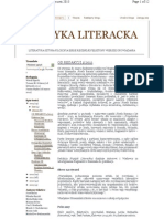 Krytyka Literacka styczeń-czerwiec 2013