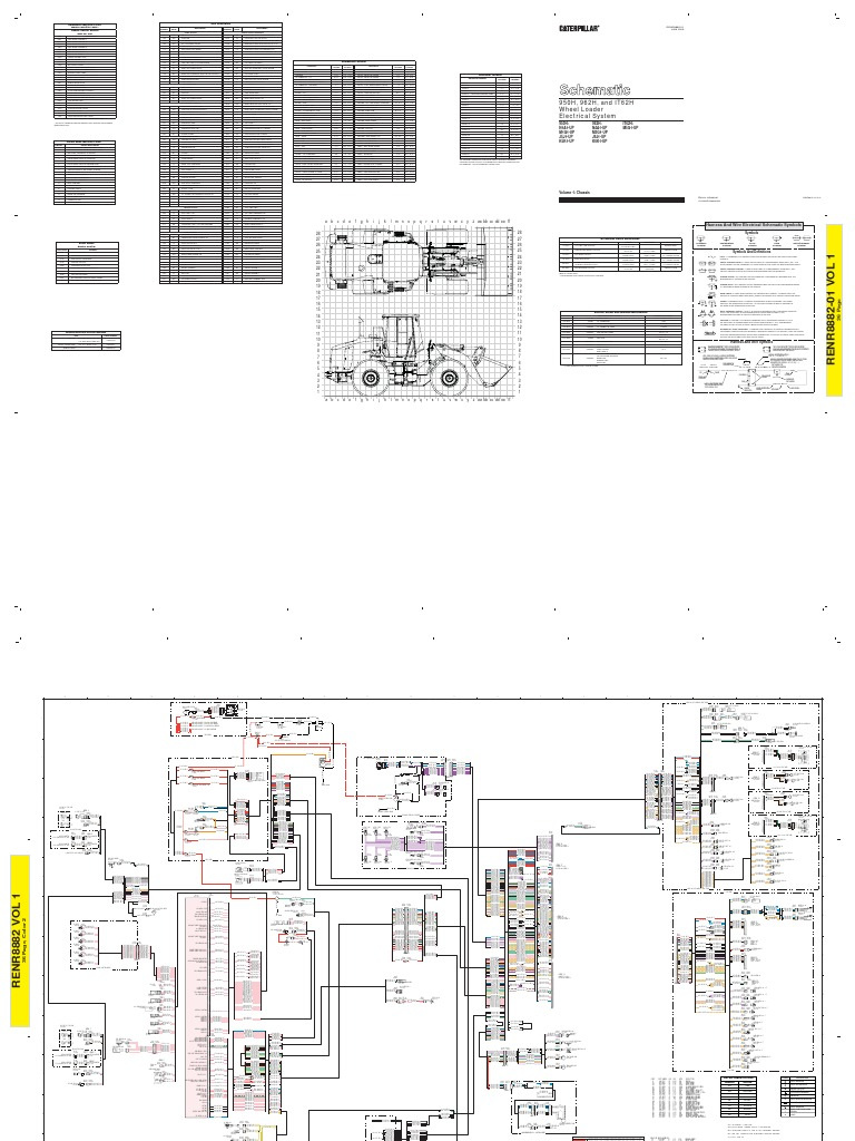 950h,962h Wheel Loader Electrical System Multi Terrain Loader Caterpillar  299 Caterpillar 247b Heater Fan Wiring Schematic