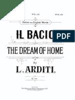 ARDITI - Il Bacio - Piano Vocal