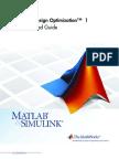 Simulink Design Optimization - Getting Started Guide