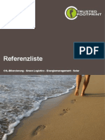 Referenzliste - Trusted Footprint