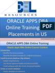 Oracle Apps DBA Online Training in Us