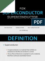 FIZIK - SUPERKONDUKTOR (Tingkatan 5)