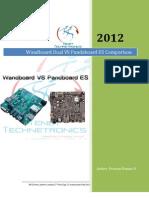 Wandboard vs Pandaboard ES