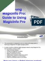 MagicInfo Pro - Guide to Using MagicInfo Pro.pdf