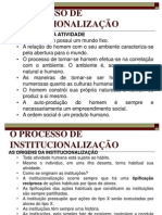 BLEGER   PROCESSO INSTITUCIONALIZACAO