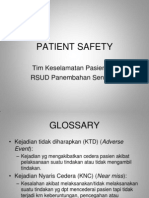 27158095 Patient Safety