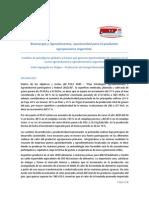 Bioenergia y Agroalimentos 2012