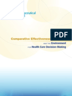 2013 Compararive Effectiveness Research and the Environment for Health Care Decision-Making