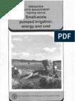 Best Irrigation Water Pumping Manual