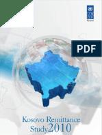 Kosovo Remittance Study 2010