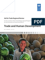 Aid for trade needs assessments regional review
