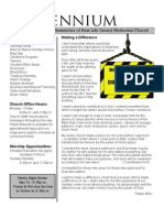May, 2009 Newsletter