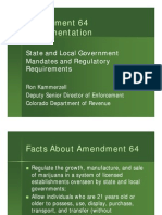 CCI Foundation 2013 Summer Conference Facts About Amendment 64