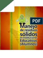 Manejo de Residuos Solidos en Intituciones Educativas Alumnos