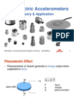 Theory and Application of Piezoelectric Accelerometers 1