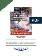 Carlos a Uquillas Neoliberalismo en El Ecuador