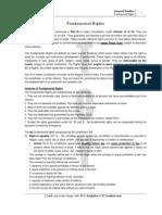 Study Material Fundamental Rights