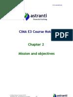 CIMA E3 Notes  -  Enterprise Strategy - Chapter 2.pdf