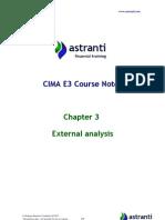 CIMA E3 Notes  -  Enterprise Strategy - Chapter 3.pdf
