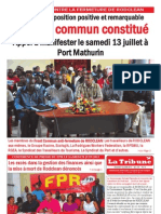 La Tribune Issue 419- 120713