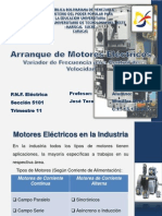 Arranque de Motor AC VARIADOR F