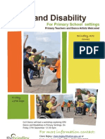 Dance and Disability CPD Workshop For Primary School Settings