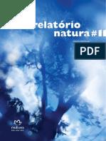 Relatório sustentabilidade Natura - VER INVENTÁRIO E SOLUÇÕES P GEE