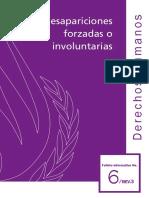 Desapariciones Forzadas o Involuntarias Naciones Unidas