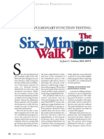 The Six Minute Walk Test