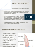 Pulmonary Function Test(PFT)