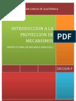 INTRODUCCION A LA PROYECCIÓN DE MECANISMOS