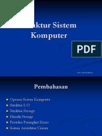 20101027 Modul-2 Struktur Sistem Komputer
