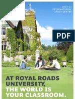 캐나다 Embassy ISC RRU_ISC_Flyer_2013-14