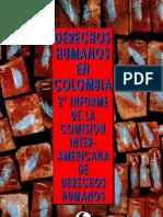 DERECHOS HUMANOS EN COLOMBIA 2° INFORME DE LA COMISIÓN INTERAMERICANA DE DERECHOS HUMANOS