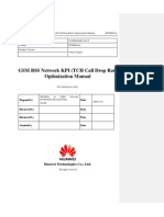 04 GSM BSS Network KPI (TCH Call Drop Rate) Optimization Manual