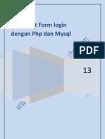 membuat form login dan logout user atau Admin dengan php dan mysql.pdf