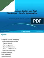 Agilent Carrier Agregation_LTEwebcast