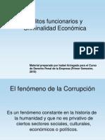 Delitos Funcionarios y Criminalidad Economica