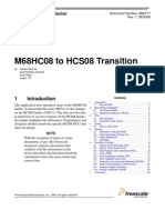 M68HC08 to HCS08 Transition