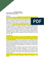 Patrones de Especializacion (1986-2003)